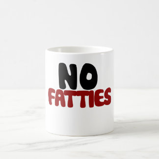 Caneca De Café Nenhum Fatties