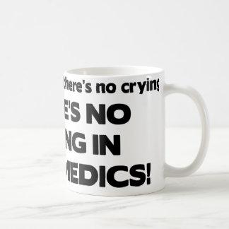 Caneca De Café Nenhum grito nos paramédicos
