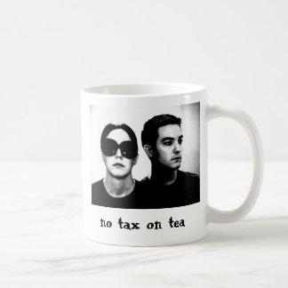 Caneca De Café Nenhum imposto no chá