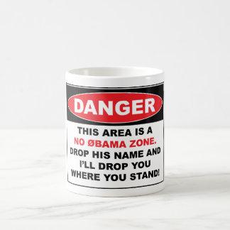 Caneca De Café Nenhuma zona de Obama