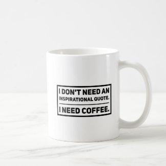 Caneca De Café Nenhumas citações inspiradores