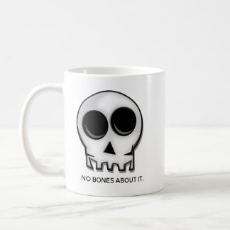 Caneca De Café Nenhuns ossos sobre ele