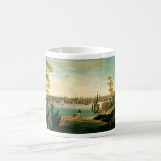 Caneca De Café New York de Brooklyn Heights cerca de 1834