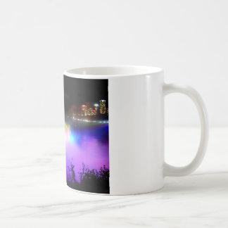 Caneca De Café Niagara-Queda-sob-projector-em-noite