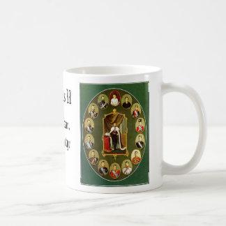 Caneca De Café Nicholas II - Múltiplo, Nicholas II - azul, NIC…