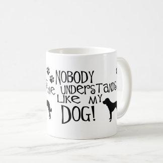 Caneca De Café Ninguém compreende-me como meu cão