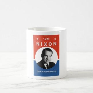 Caneca De Café Nixon - agora mais do que nunca - 1972