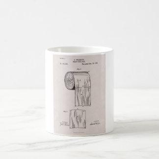 Caneca De Café No. 465.588 da patente do papel higiénico por S.
