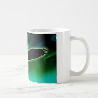Caneca De Café noite do corvo