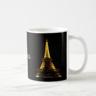 Caneca De Café Noites de Paris