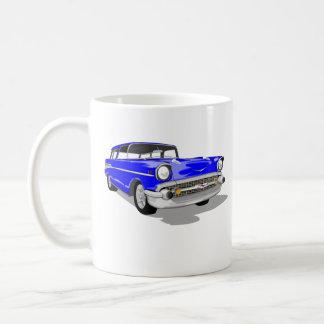Caneca De Café Nómada do azul '57