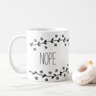 Caneca De Café Nope