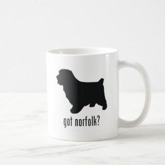 Caneca De Café Norfolk Terrier