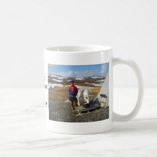 Caneca De Café Noruega, pagamento de Sami em Lapland