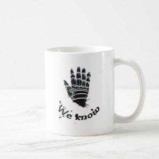 Caneca De Café nós sabemos o design bonito