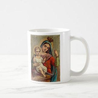Caneca De Café Nossa senhora do rosário o mais santamente