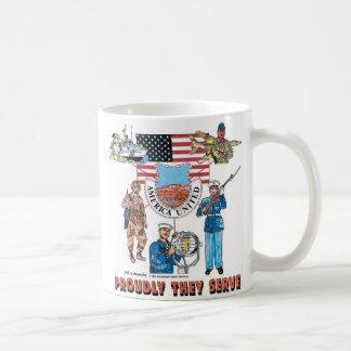 Caneca De Café nossas forças armadas