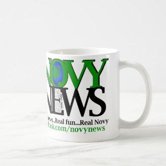 Caneca De Café Notícia de Novy