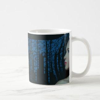 Caneca De Café Numeração: Inteligência artificial bonita