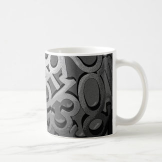 Caneca De Café Números