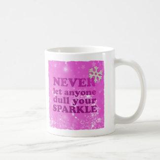 Caneca De Café Nunca deixe qualquer um tornam mais fraco seu
