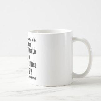 Caneca De Café Nunca subestime o pai australiano da névoa