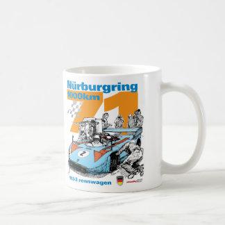 Caneca De Café Nurburgring 1973 1000 quilômetros Porsche 908-3