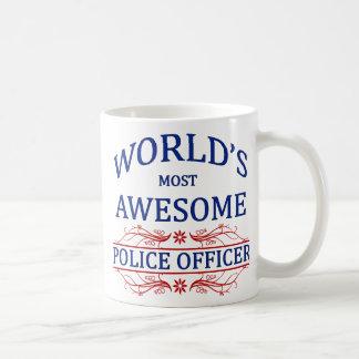Caneca De Café O agente da polícia o mais impressionante do mundo