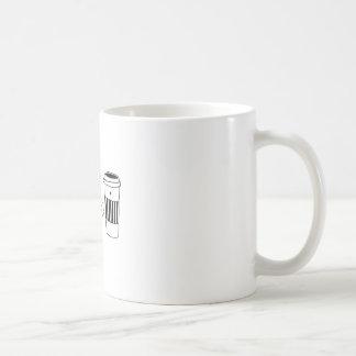 Caneca De Café O amor dos namorados de Latte do café