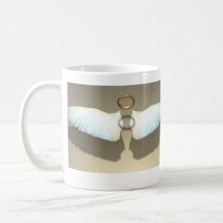 Caneca De Café O anjo voa o copo de café