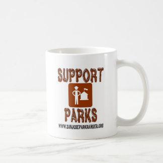 Caneca De Café o apoio estaciona guardas florestais de San Jose