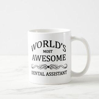 Caneca De Café O assistente dental o mais impressionante do mundo