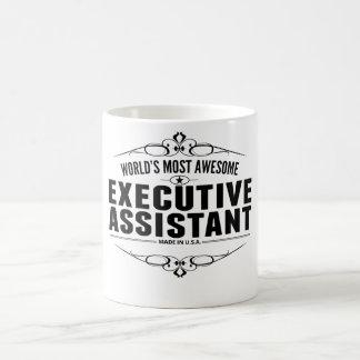 Caneca De Café O assistente executivo o mais impressionante do