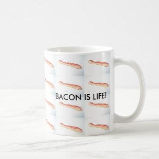 Caneca De Café O bacon é vida! O bacon é vida!