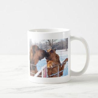Caneca De Café O beijo - Bloodhound