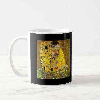 Caneca De Café O beijo dos amantes após Klimt