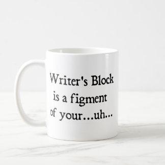 Caneca De Café O bloco do escritor