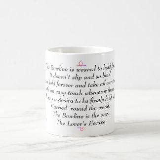 Caneca De Café O Bowline - o escape do amante