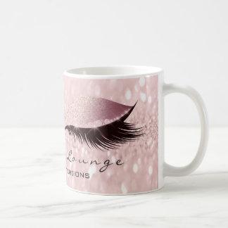 Caneca De Café O brilho do estúdio da composição do olho da