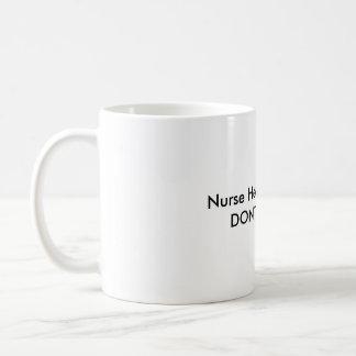 Caneca De Café O café da urze da enfermeira