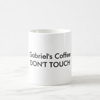 Caneca De Café O café de Gabriel não toca