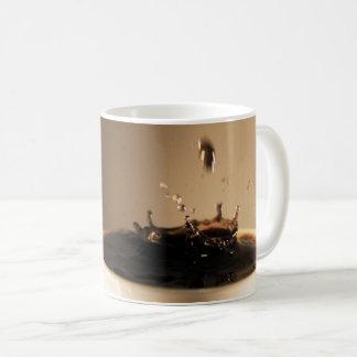 Caneca De Café O café espirra