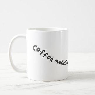 Caneca De Café o café faz-me zumbir