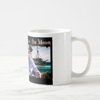 Caneca De Café O capitão dos piratas