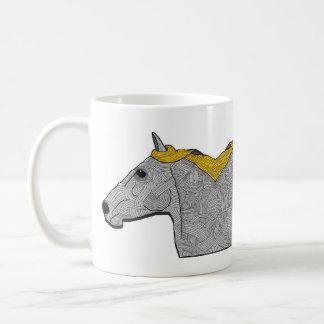 Caneca De Café o cavalo do espelho
