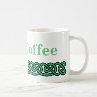 Caneca De Café O céltico ata o café irlandês