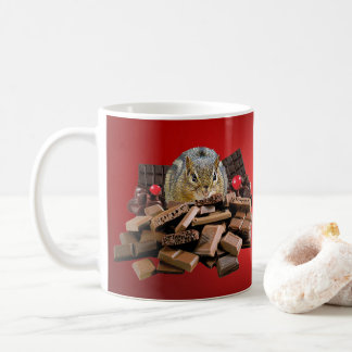 Caneca De Café O Chipmunk o mais doce do chocolate do dia