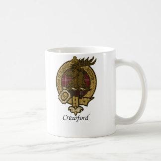 Caneca De Café O clã de Crawford Crest