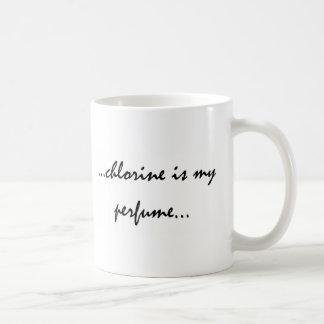 Caneca De Café O cloro é meu perfume