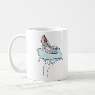Caneca De Café O deslizador de Cinderella